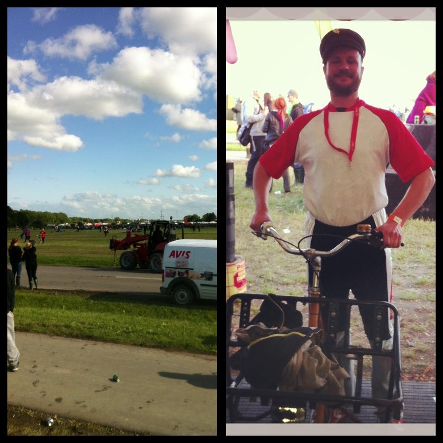 Roskilde run + postmand per