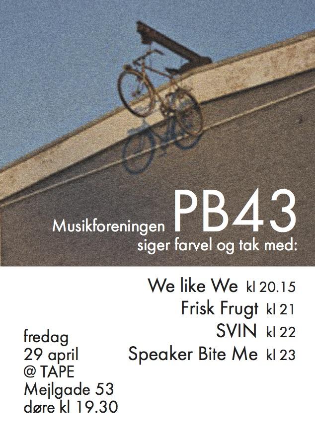 PB43 flyer