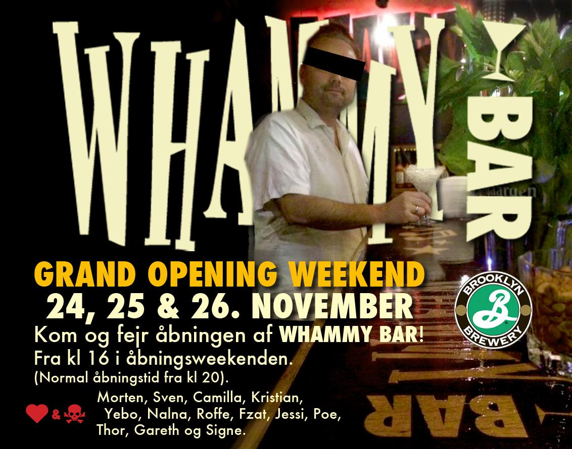Whammy Bar Grand Opening