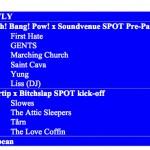 spot optakt: blaavinyl's spot guide 2017